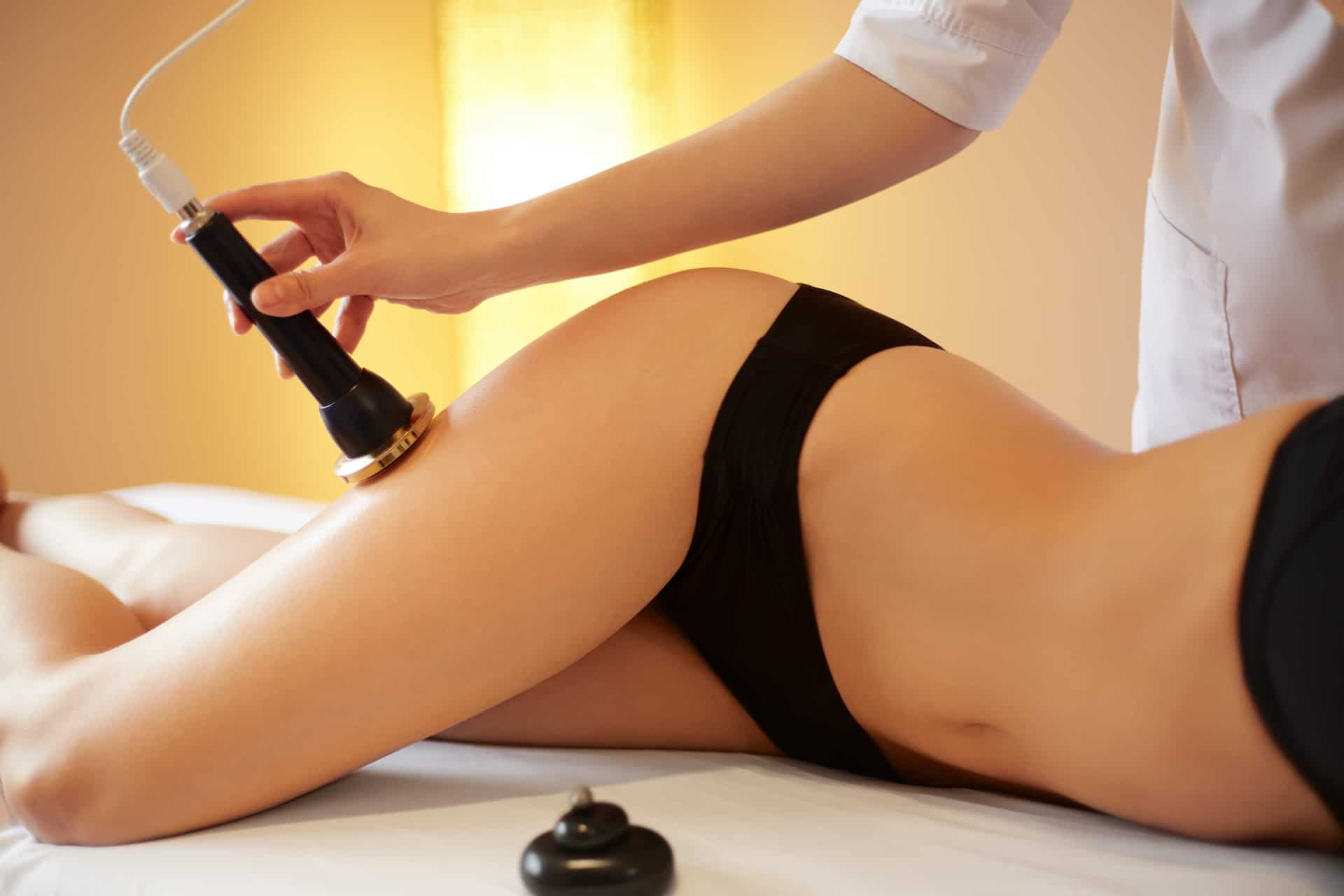 Body Care. Ultrasound Cavitation Body Contouring Treatment. Anti Cellulite